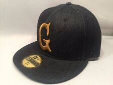 New Era Acapulco Gold Denim G 59FIFTY Fitted Cap Hat $50 Size 7 5/8 Navy