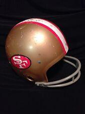 Vintage San Francisco 49'ers Helmet Rawlings USA HNFL Football Helmet Medium