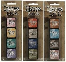 Tim Holtz MINI DISTRESS INK PADS SETS 4, 5 , & 6 Ranger in stock!