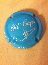 Capsule de champagne GASPARD-BAYET cuvée gil'caps (12b. bleu ciel et blanc)