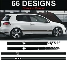 VOLKSWAGEN RABBIT GOLF SIDE STRIPE Adesivi Decalcomanie VW RABBIT