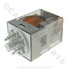 RE01 FINDER 230V COIL 8 PIN ROUND PLUG IN POWER RELAY DPCO RATED AT 10A 10 AMP