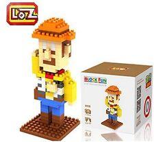 New LOZ Diamond Blocks iBLOCK FUN Toy Story Mini Nano #9128 Woody Block With Box