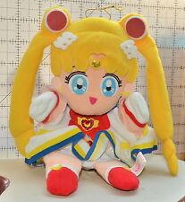 Super Sailor Moon S plush doll Banpresto stuffed toy Japan hand puppet 1996