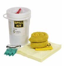 SpillTech 5 Gallon HazMat Spill Kit - Pads, Socks, Gloves, Glasses, & More!!