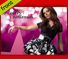 CHERYL COLE No1 Signed Reproduction Autograph CHRISTMAS Card