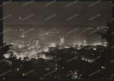 AK-Stuttgart-bei-Nacht-Nachtansicht-Innenstadt-Beleuchtung-60er Jahre