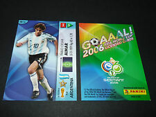 PABLO AIMAR ARGENTINA PANINI CARD FOOTBALL GERMANY 2006 WM FIFA WORLD CUP