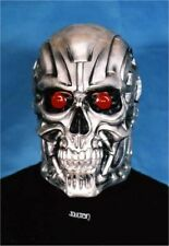 Terminator T800 Rubber Mask Metal Skull Cosplay Toy Halloween Made in Japan