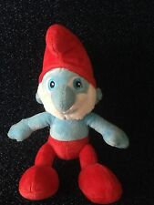 "BUILD A BEAR -PAPA SMURF- THE MOVIE -10"" PLUSH SOFT TOY- 2011-LOVELY CONDITION"