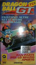 VHS - DE AGOSTINI/ DRAGON BALL GT - VOLUME 1 - EPISODI 2