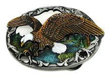 Eagle Hebilla De Cinturón Americana occidental temática Pájaro auténtico producto Hebillas J C &