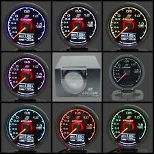 Greddy Style Multi D/A Boost Gauge PSI Digital Analog 7 Colour 2 bar