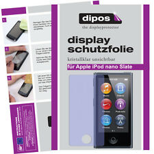 2x Apple iPod Nano Slate 7G screen protector protection guard crystal clear