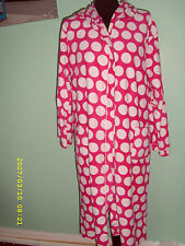 ladys dressing gown  with belt size 10/12