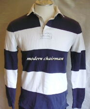 Ralph Lauren Rugby Men's Athletic Terry-Lined Shirt Blue White $128 Sport Logo M