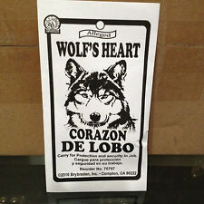 Wolfs Heart In Envelope - Wiccan Spell Supplies Ritual Witchcraft
