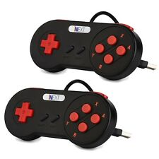 2x Retro Super Nintendo SNES USB Controller for PC/MAC Controllers US Free Ship