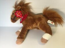 WELLS FARGO HORSE,Brown stuffed Horse, Wells Fargo Legendary Pony MACK, EUC