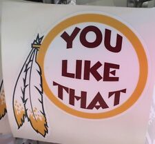 CHEAP Price Kirk Cousins You Like That Washington Redskins Sticker / Decal Color
