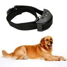 Anti Bark No Barking Tone Shock Control Training Collar for Small Medium Dog New