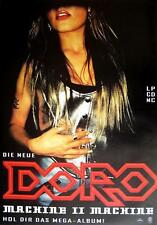 "DORO POSTER ""MACHINE II MACHINE"""