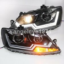 2011 to 2015 year For VW Jetta MK6 LED Strip Headlights LED Front Lamps LD
