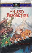THE LAND BEFORE TIME (1) VHS Clamshell 82794 Original