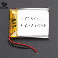 3.7V Li Polymer Battery 052530 370mAh Stable with PCM Rechargeable