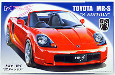 Fujimi ID-37 Toyota MR-S S Edition 1/24 Scale Kit