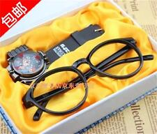 Japanese Anime Detective Conan Cosplay Watch+Eyeglass Frame
