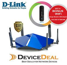 D-Link DSL-4320L TAIPAN - AC3200 Ultra Wi-Fi Modem Router + Free USB WiFi in AU