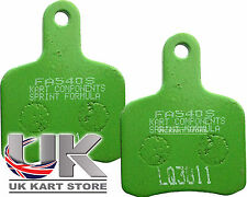 EBC TonyKart / OTK 2004 - Current Brake Pads Green Soft FA540S UK KART STORE