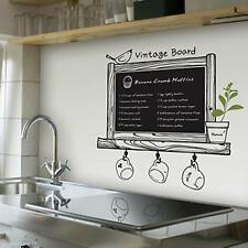 Removable PVC Blackboard Chalkboard Sheet Wall Mural Paper Decal Sticker Decor