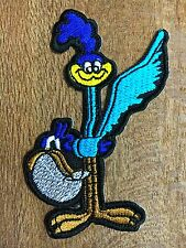 """New"" looney tunes ROADRUNNER Embroidered Iron On/Sew On Patch"