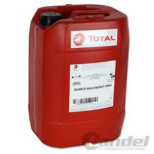 [€3,60/L] 20 Liter TOTAL Quartz 9000 ENERGY 5W-40 Motoröl 5W40 VW MERCEDES BMW
