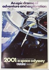 Stanley Kubrick's 2001: A SPACE ODYSSEY Signed Autograph Poster by Dullea & G.L.