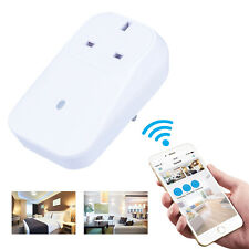 Wifi Smart Power Plug Socket Timer Remote Control with IOS / Android App AH181