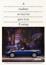1994 Mazda Mx-5 Miata Mx5 R Edition Advertisement Print Art Car Ad J570