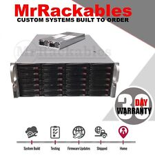 4U Supermicro 24 Bay X8DTE-F FreeNas Server 2x Xeon Quad Core 48GB  JBOD Storage