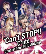 New C-ute Cute Concert Tour 2015 Autumn Can't Stop Blu-ray Japan F/S EPXE-5077