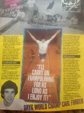 L2-6 Ephemera 1983 Article Carl Furrer Trampoline Champ