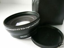 BK 58mm 0.45X Wide-Angle Lens For Fujifilm Fuji FinePix HS10 Camera