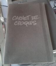 BOUCQ. Carnet de croquis. Les inédits (Pas publiés). Sangam. 2009. Ex. num. HC.