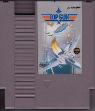 TOP GUN with cosmetic flaws ORIGINAL SYSTEM NINTENDO GAME NES HQ