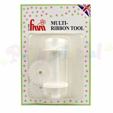 FMM Multi RIBBON CUTTER TOOL - Sugarcraft Cake Decorating Stitch effect Bows