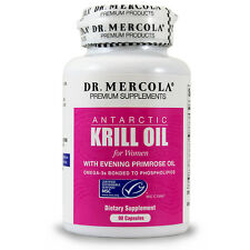 Dr. Mercola Krill Oil For Wome - With Evening Primrose - 90 Capsules