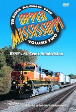 TRAINS ALONG THE UPPER MISSISSIPPI VOL 2 PENTREX NEW DVD VIDEO