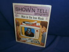 Vintage GE Show'N Tell Man in the Iron Mask Picturesound Program 1965