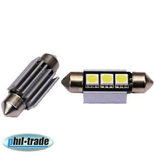 LED Soffitte Lampe C5W Canbus 36mm 12V 3 x SMD Innen Beleuchtung o. Nach Glimmen